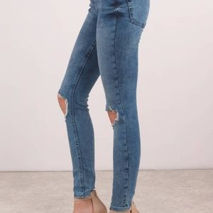 Free People Jeans - ⬇️Free People | high-rise busted skinny jeans NWT